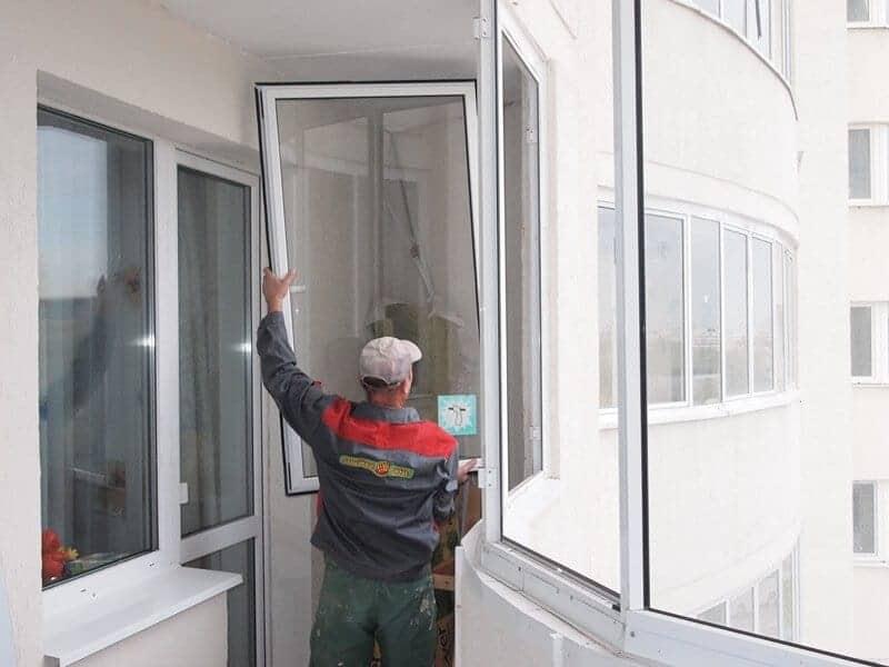 Отремонтировать алюминиевые окна