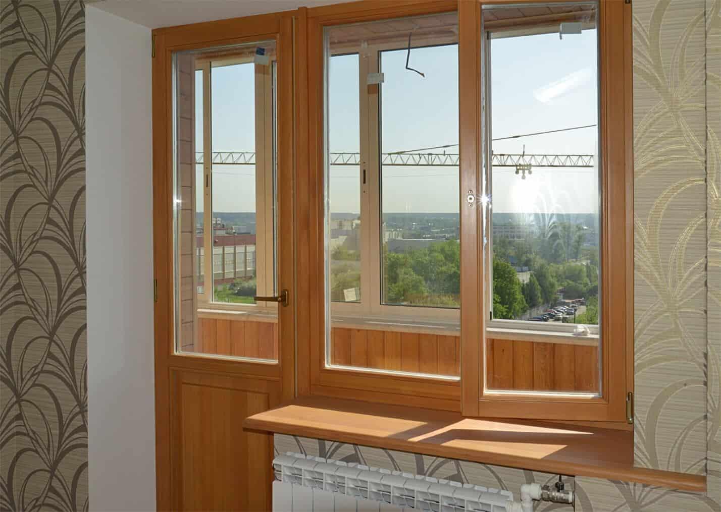 Ремонт балконных блоков